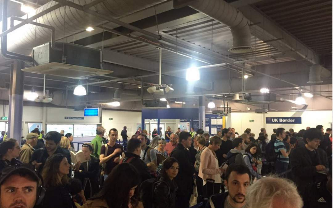 Luton Airport Passengers Stranded After Thunderstorm